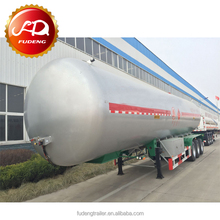 60M3 LPG Butane tanker trailers 3 Axles 25Tons-30Tons LPG Tankers for sale