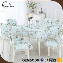 Cheap flower pattern raw material antique lace wedding decoration chair covers and table covers