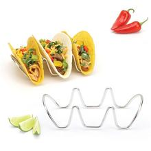 Guangzhou Supplier Wholesale Stainless Steel Tacos Holder Stand