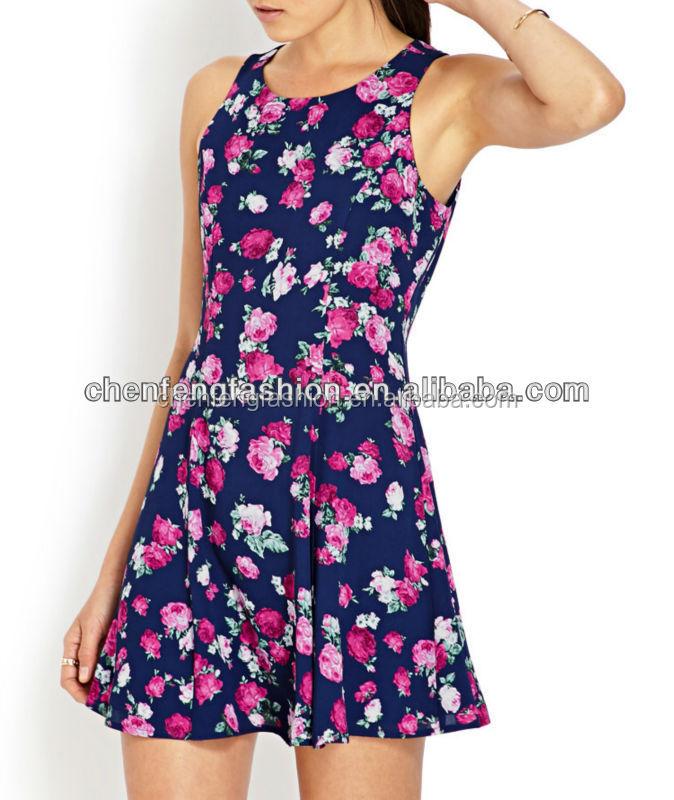 chefon feeling floral shift summer dresses for juniors