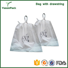 Plastic dry cleaning bag for laundry or hotel