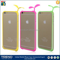 hot selling universal silicone bumper cover case for iphone 6