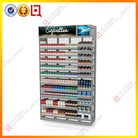 Classic Wall mounted cigarette retail display rack