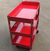 Three Layer Four Wheel Restaurant and Hotel Service Cart SC1350