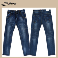 Wholesale alibaba dollar men jeans strech intergrity top style nice model long pants trousers