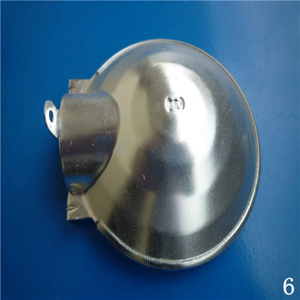 ISO 9001:2008 steel material hardware China made fabrication chrome plating metal punching parts