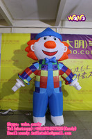 2016 Hot sale inflatable clown, inflatable walking clown for advertising C-208