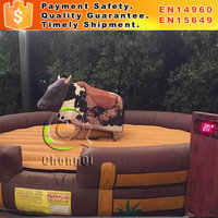 Hot sale inflatable mechanical bull mechanical bull rodeo penis inflable mechanical bull