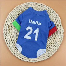 Pet Summer Country Sports Shirts Dog Apparel Clothes