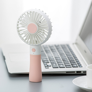 Newest cute design usb electric mini fan portable air cooling hand-held fan For Korea Market
