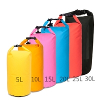 2017 custom Logo waterproof ocean pack outdoor pvc small swimming drybag 20l 30l dry bag waterproof for sports