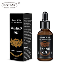 <strong>100</strong>% Natural Beard Growth Oil Men's Beard Care Organic Scented Beard Oil 30ML Private label