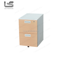 Alibaba China supplier top sale office used 2 drawer mobile filing cabinet metal