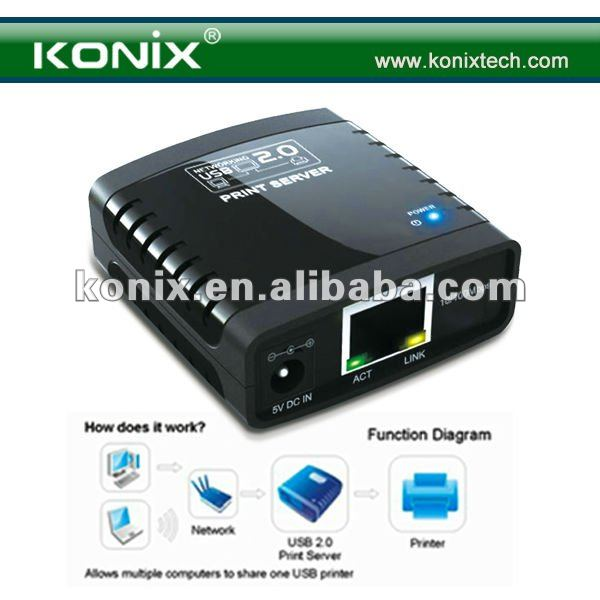 Supports Telnet and Web Management software network usb 2.0 server