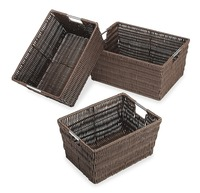 China supplier Wholesales Plastic Storage Basket with handle