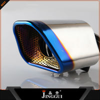 auto part tuning decorate exhaust pipe