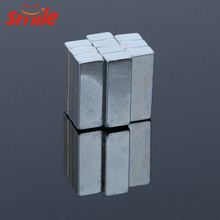 Customized N45 High Power Neodymium Block Magnet with Zn Coating