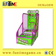 2015 Hot Sale arcade basketball shooting gun machine from Funtime company