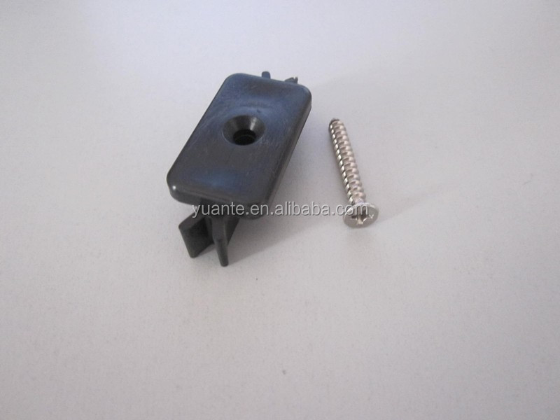 Plastic Clip/ Fastener can be used for outdoor WPC / wood deck flooring