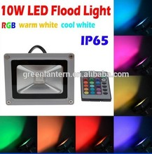 Factory direct sale IP65 LED Outdoor Light Reflector 10w RGB Flood Lighting