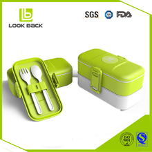 new 2017 waterproof food containers eco kids lunch box with cutlery