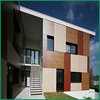 wholesale eco-friendly weather resistant exterior HPL wall panels