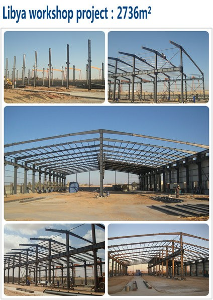 Prefabricated Steel Frame Airplane Hangar Building