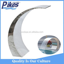 Hot sale High quality 600x300mm blade stainless steel swimming pool waterfall