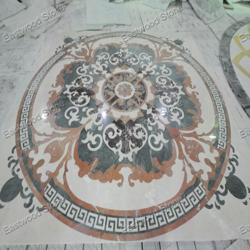 Waterjet Marble Floor Medallion