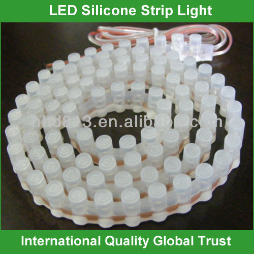 12v 96cm silicone coated led strips