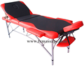 3section adjustable aluminum massage table medical table