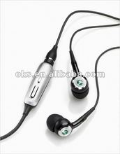 Super Bass Sound Isolating Metal studio headphone 3.5mm In Ear Earphone DJ Headphone Ear Drop With Soft Ear bud