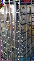 warehouse storage cage wire mesh heavy duty cage stackable container factory supplier