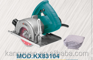 125mm 1600w marble cutter with dust bag , cutting saw , wood saw (KX83104)