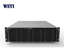 WEYI 3U 16 bays hdd hot swap SASA/SAS rack mount firewall server cases