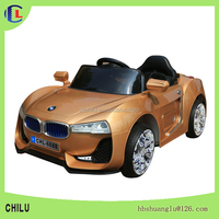 colorful big wheel radio control car /baby battery car for kids toy car