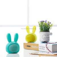 Bunny design mini Bluetooth speaker wireless with nice silicone touch