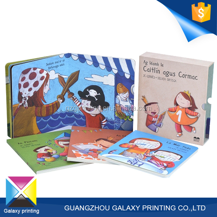 2016 Factory supply cheap custom colourful children board book printing on demand