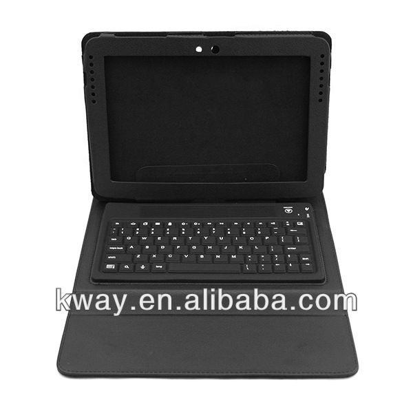 Bluetooth Wireless Keyboard Case For Samsung Galaxy Note 10.1 N8000 N8010 KKB049