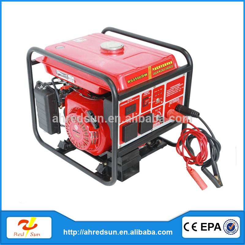commercial welders generators with Honda engine