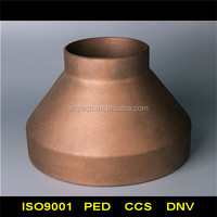 Copper eccentric reducer