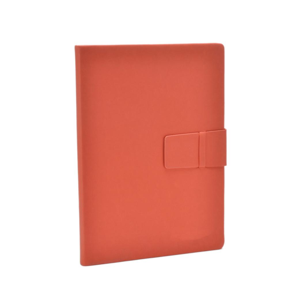 recycle red kraft paper notebook