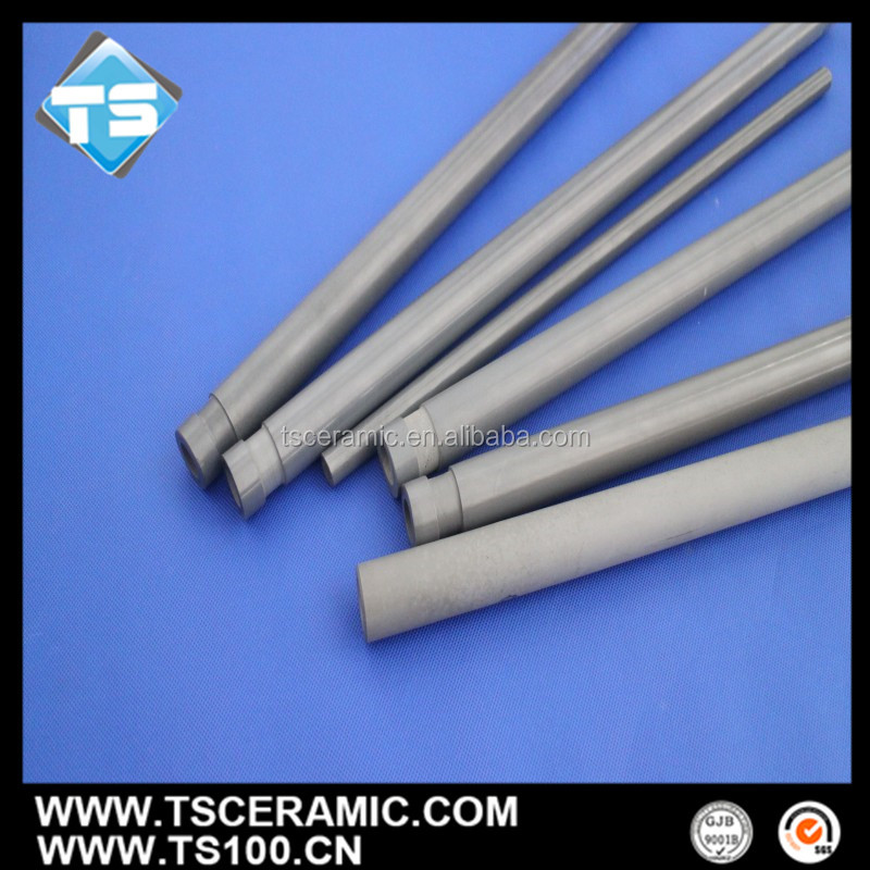 Nitride Bonded Sic Thermowell/Thermocoupl Shield for Molten Aluminum