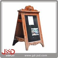 Newest design high quality Chalkboard free standing and folding Mini Wood Easel Table-Top Easelwooden Easel And Chalk Board