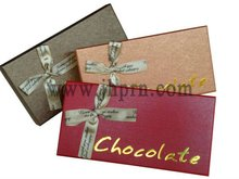 luxury paper chocolate box
