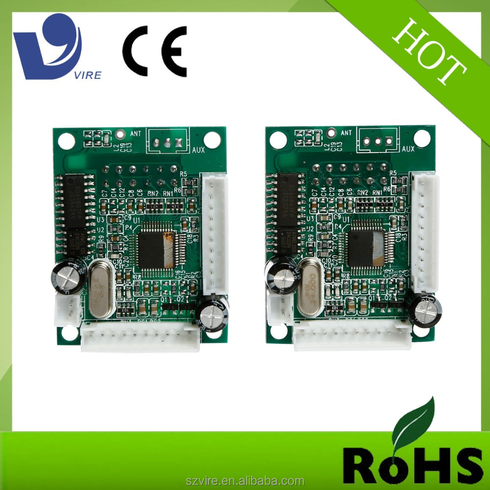Customized usb sd mp3 player motherboard with remote control