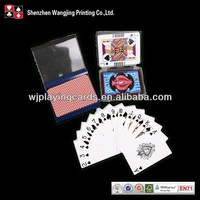 Quality Advertising Custom Plastic Coated Playing Cards