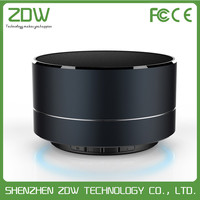 factory wholesale wireless mini bluetooth speaker with fm function and led light