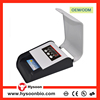 Multi currency mini bill counter portable money counter with UV MG IR cash counting machine