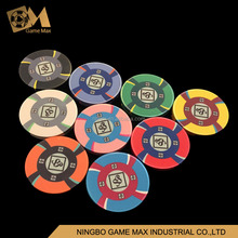 Custom Design 10g Casino Quality Ceramic Poker Chips